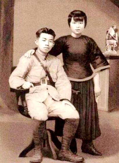烈士陈毅安与妻子:一封无字信一生未了情_湖南名人网
